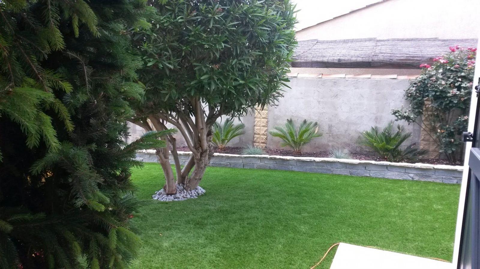 Aménagement Jardin Pas Cher aménagement jardin avec gazon synthétique, marignane - vente